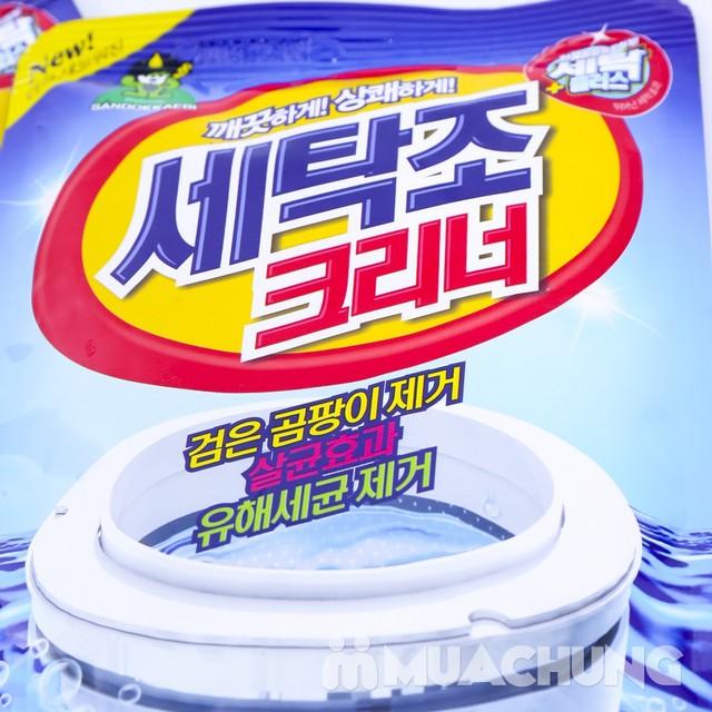 2 túi bột tẩy vệ sinh lồng máy giặt Sandokkaebi nhập khẩu Hàn Quốc - 6
