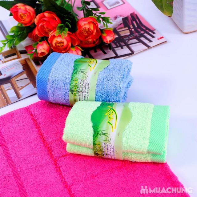 3 khăn mặt sợi tre thiên nhiên cao cấp Mpro - 16