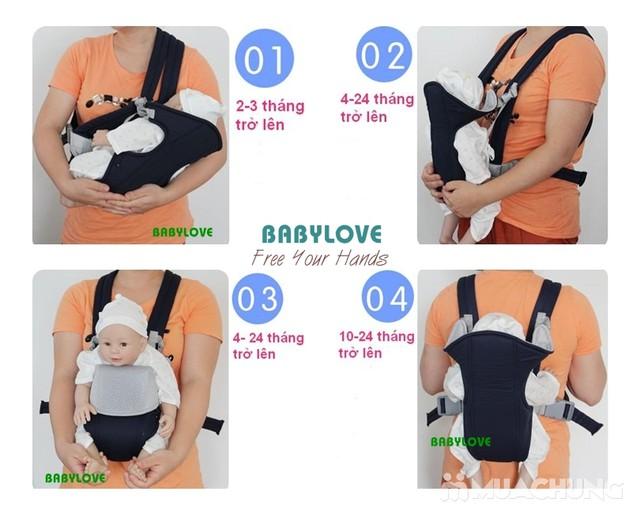 Địu Babylove 4 tư thế an toàn cho bé yêu - 1