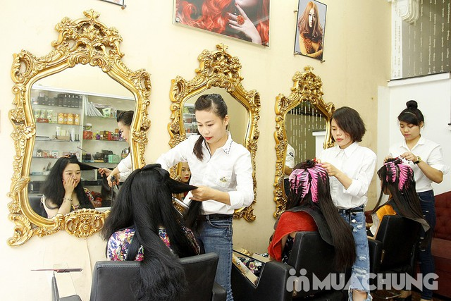 Cắt + Nhuộm/ Uốn/ Ép tại Hair Salon Trang Bông - 24