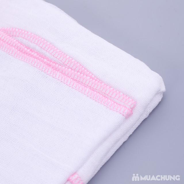 3 khăn tắm sơ sinh 4 lớp siêu mềm - 2