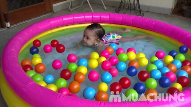 Combo bể bơi 4 tầng Intex tặng bóng và phao bơi - 9