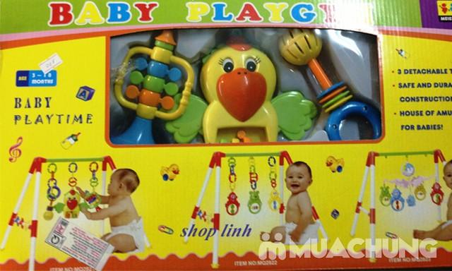 Kệ chữ A hình chim vẹt cho bé yêu thỏa sức vui chơi - 4