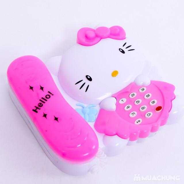 Bộ đàn và điện thoại Hello Kitty phát nhạc cho bé - 11