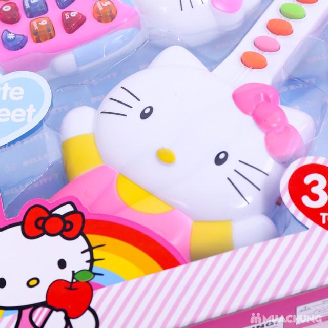 Bộ đàn và điện thoại Hello Kitty phát nhạc cho bé - 12