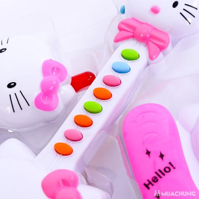 Bộ đàn và điện thoại Hello Kitty phát nhạc cho bé - 13