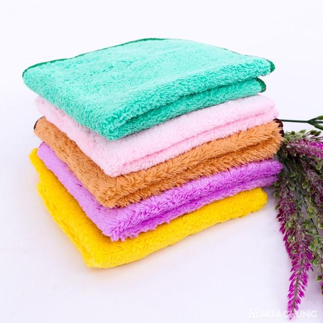 5 khăn mặt lông cừu mềm mịn cao cấp cho bé - 6
