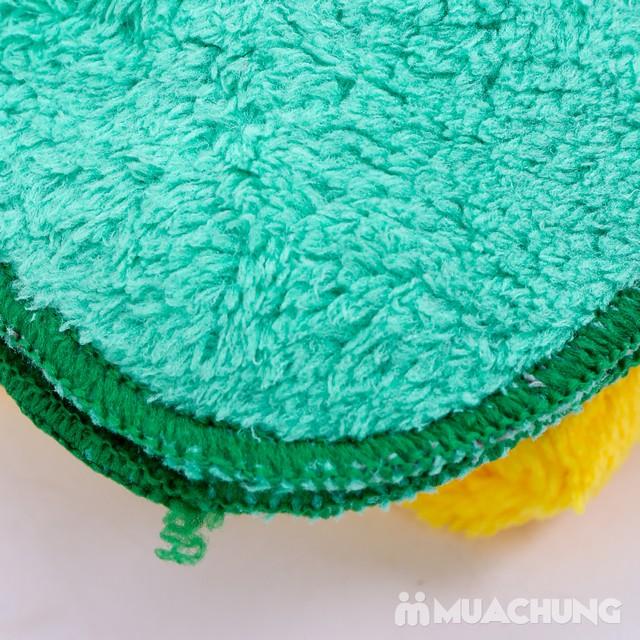 5 khăn mặt lông cừu mềm mịn cao cấp cho bé - 8