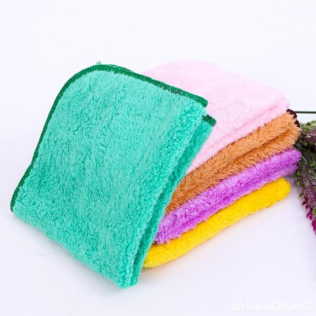 5 khăn mặt lông cừu mềm mịn cao cấp cho bé - 7