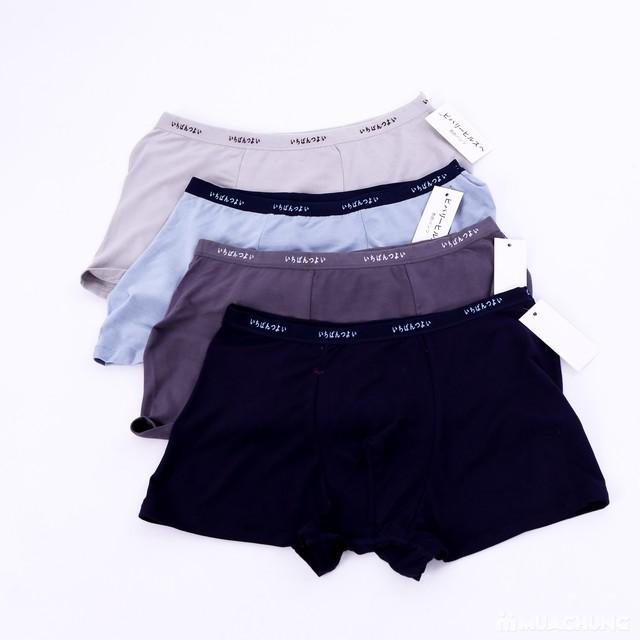 4 quần sịp đùi xuất mềm mại, thoáng mát - 3