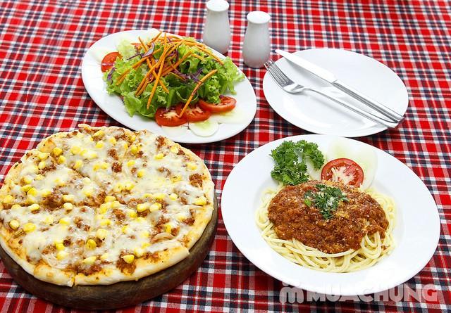 Pizza Hoa Ý và mỳ Spagheti ngon đúng điệu - 1