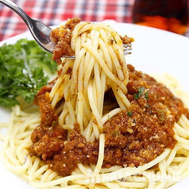 Pizza Hoa Ý và mỳ Spagheti ngon đúng điệu - 5