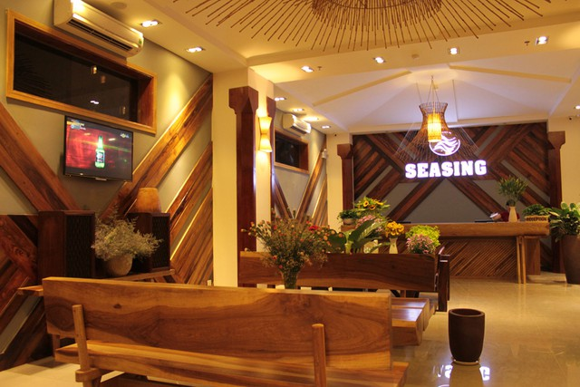 Seasing Boutique Hotel 3,5 sao Nha Trang 3N2Đ  - Có bãi biển riêng - 3