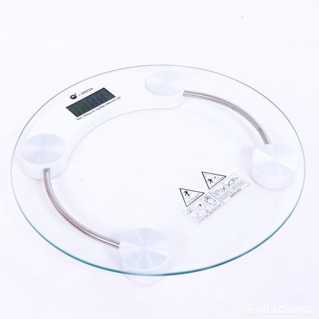 Cân điện tử công nghệ cảm biến loại lớn hình tròn - 6