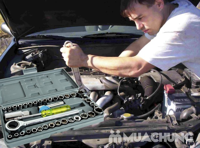 Bộ dụng cụ sửa chữa ô tô, xe máy tiện lợi - 3