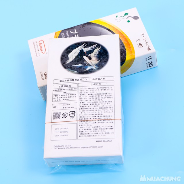 2 hộp bao cao su Romax - Mỏng, truyền nhiệt nhanh - 7