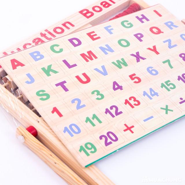 Bảng 2 mặt đa năng, thực hiện phép tính và chữ cái - 12