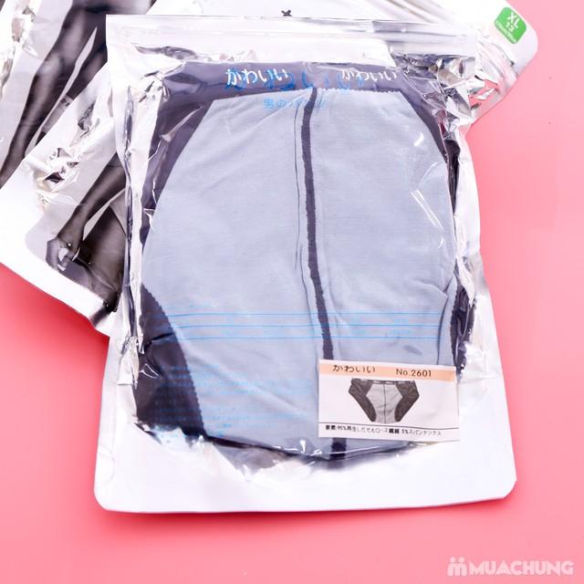 4 quần sịp tam giác xuất Nhật cotton mềm mịn - 4