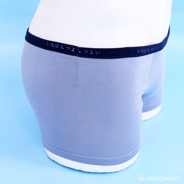 3 quần sịp đùi cotton thoáng mát - 9