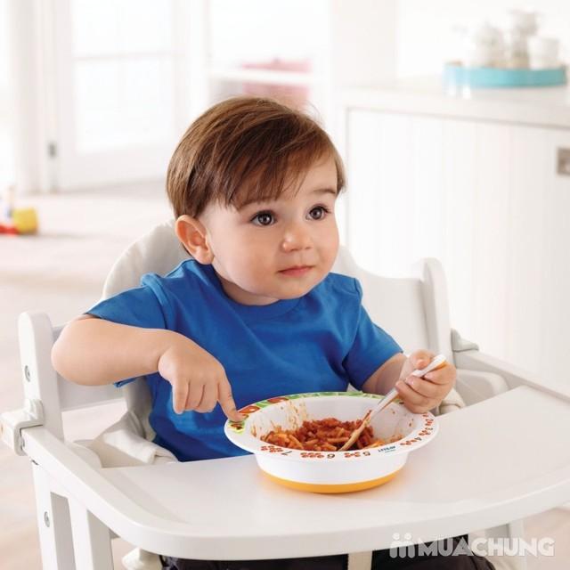 Bát ăn kèm thìa cảm ứng báo nhiệt an toàn cho bé - 5