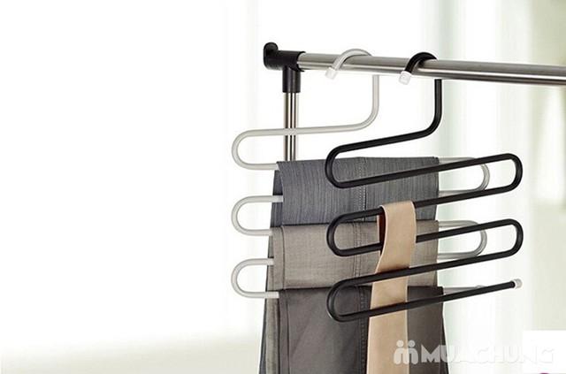 2 móc treo quần, áo đa năng loại 5 tầng - 13