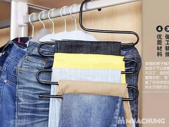 2 móc treo quần, áo đa năng loại 5 tầng - 11
