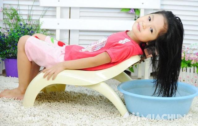 Ghế gội đầu cho bé chất nhựa bền chắc - 14