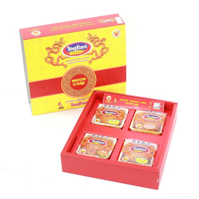 4 bánh thiếu nhi trung thu  Đồng Khánh Bông Lúa Vàng - 1