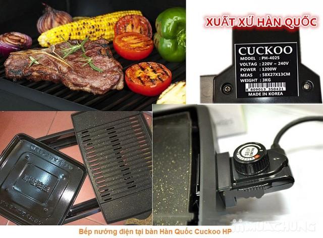 Bếp nướng điện hàn quốc CUCKOO - 5