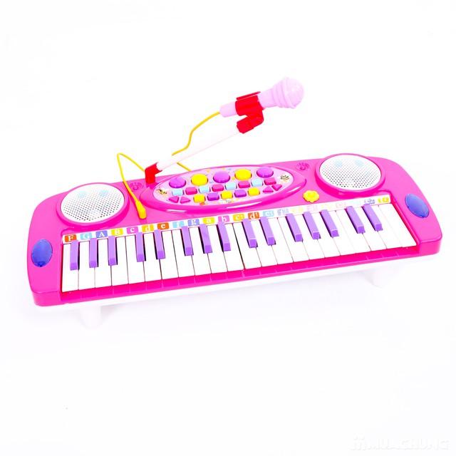 Đàn organ kèm micro cho bé làm quen với âm nhạc - 9
