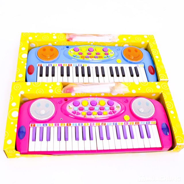 Đàn organ kèm micro cho bé làm quen với âm nhạc - 8