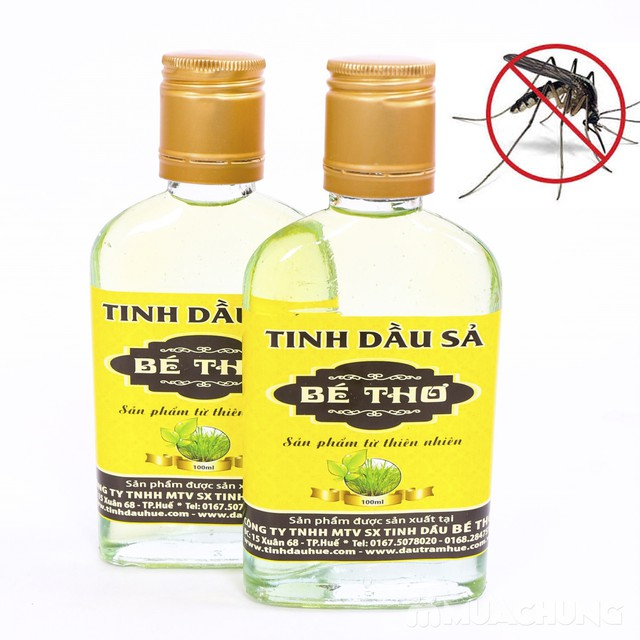 Tinh dầu sả Bé Thơ 100ml - Tinh túy từ thiên nhiên - 2