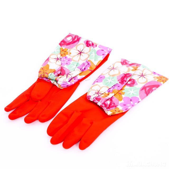 2 đôi găng tay cao su lót nỉ cho mùa lạnh - 8