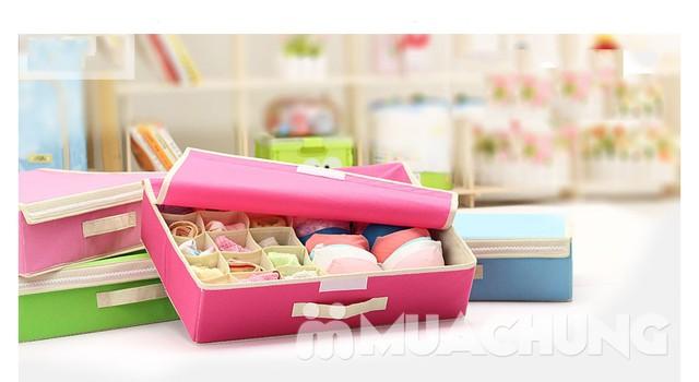 Hộp đựng đồ lót 16 ngăn có nắp kín đáo, tiện dụng, bảo quản tốt hơn các loại đồ đạc bên trong - 5