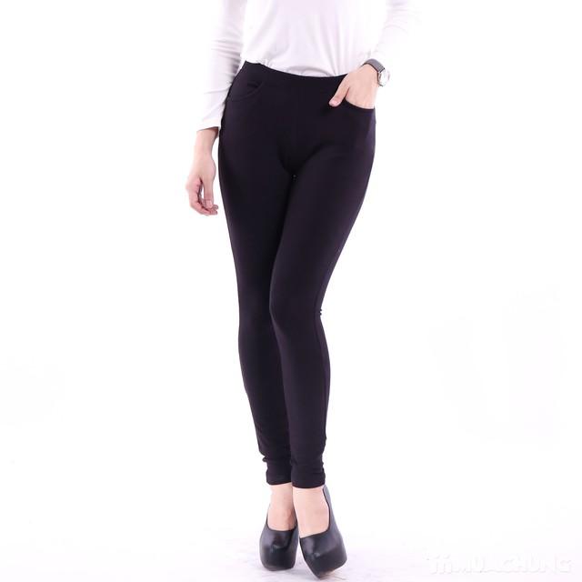 2 quần legging 100% cotton đẹp, mịn cho bạn gái  - 8
