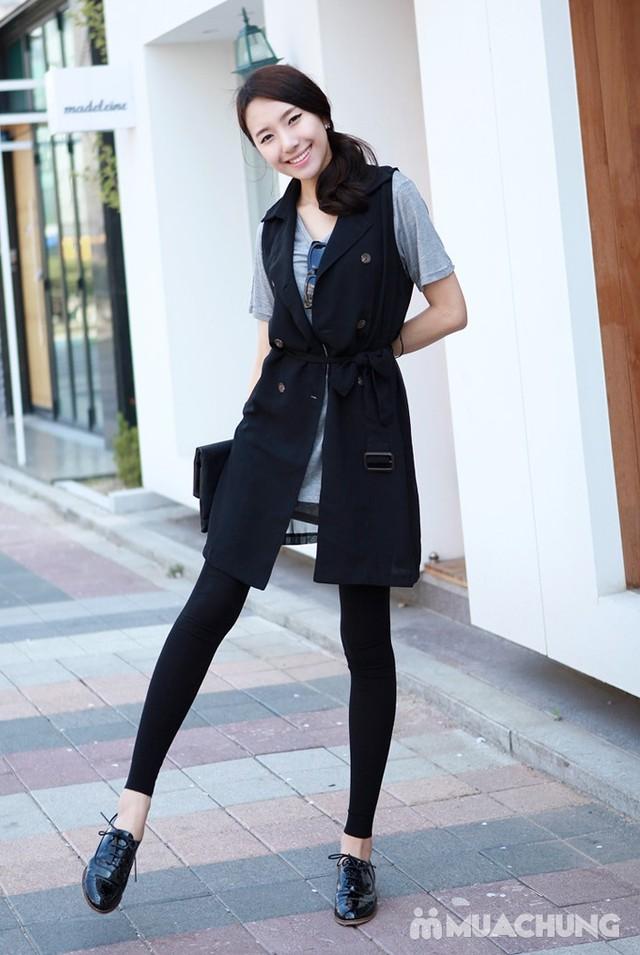 2 quần legging 100% cotton đẹp, mịn cho bạn gái  - 21