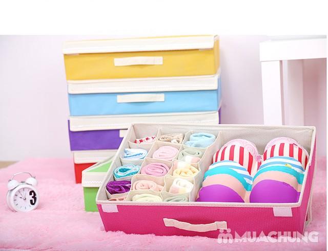 Hộp đựng đồ lót 16 ngăn có nắp kín đáo, tiện dụng, bảo quản tốt hơn các loại đồ đạc bên trong - 8
