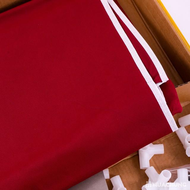 Tủ vải 3 tầng 8 ngăn khóa kéo 2 bên tiện dụng - 1