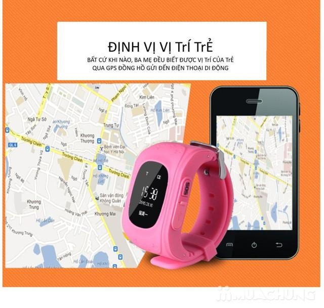 Đồng hồ điện thoại thông minh - Giúp bố mẹ quản lý và bảo vệ con  - 3