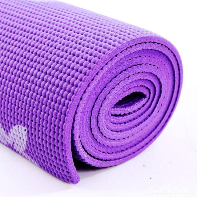 Thảm tập yoga họa tiết có túi đựng - 11