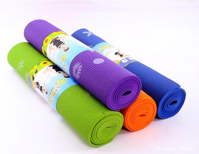 Thảm tập yoga họa tiết có túi đựng - 10