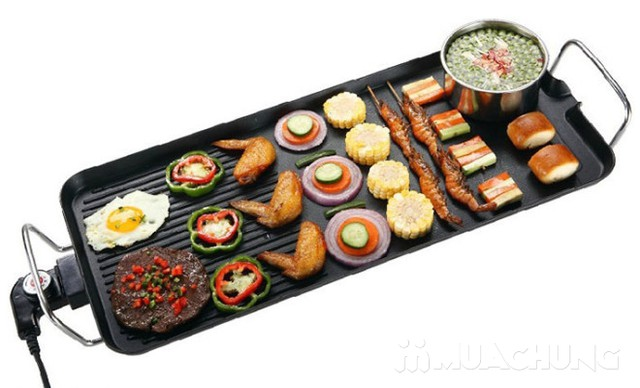 Bếp nướng điện Barbecue Plate - loại lớn 1500W - 14