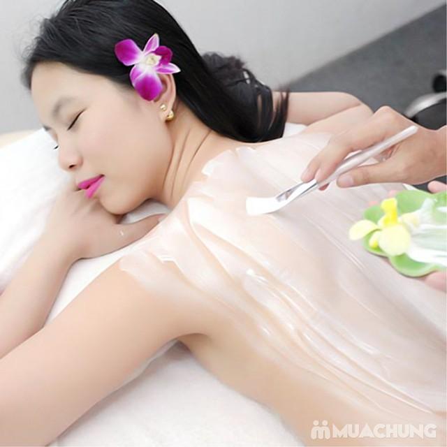 Tắm trắng thảo dược + hấp trắng nano hồng ngoại Kenna Spa - 7