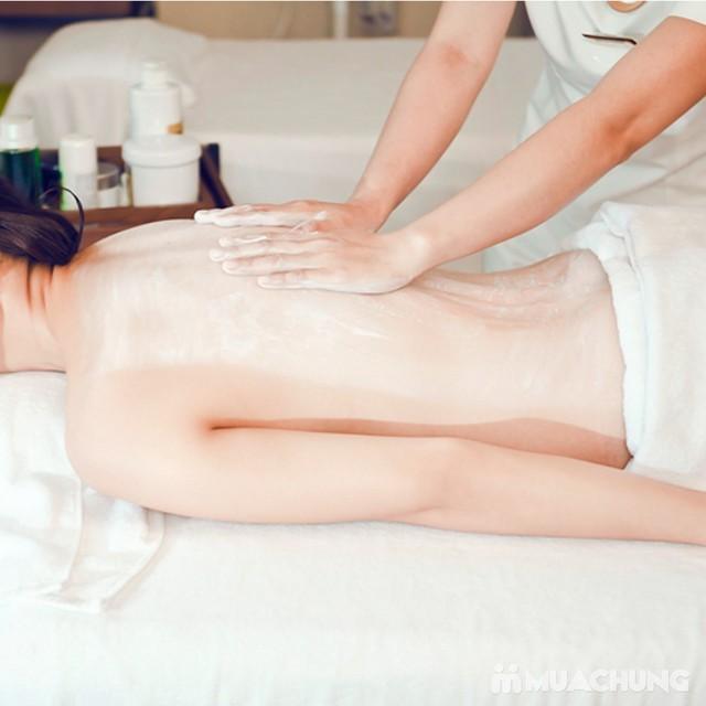 Tắm trắng thảo dược + hấp trắng nano hồng ngoại Kenna Spa - 5