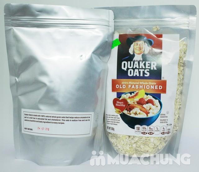 500gr Yến mạch tự nhiên Quaker Oats - 2