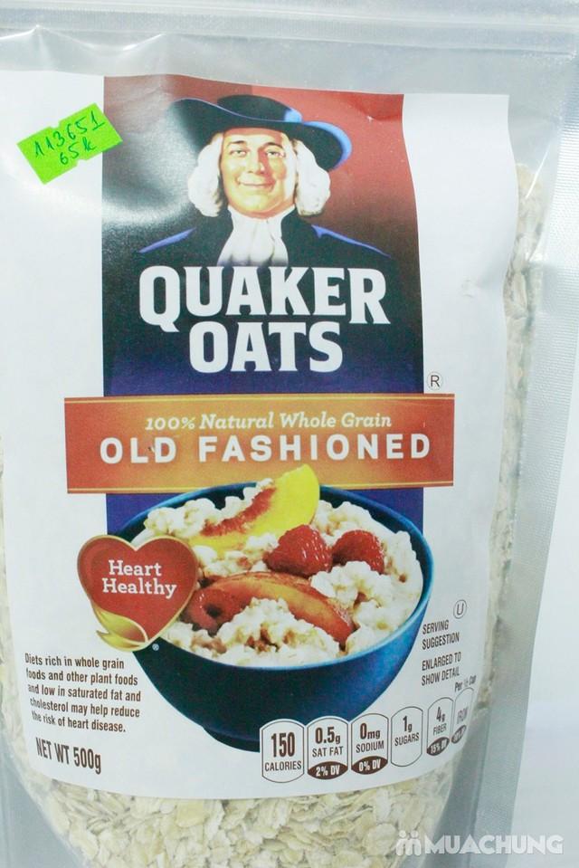 500gr Yến mạch tự nhiên Quaker Oats - 4