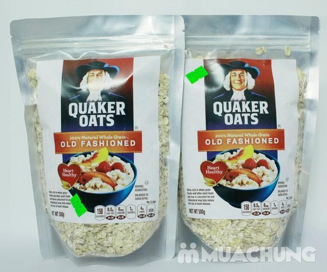 500gr Yến mạch tự nhiên Quaker Oats - 1