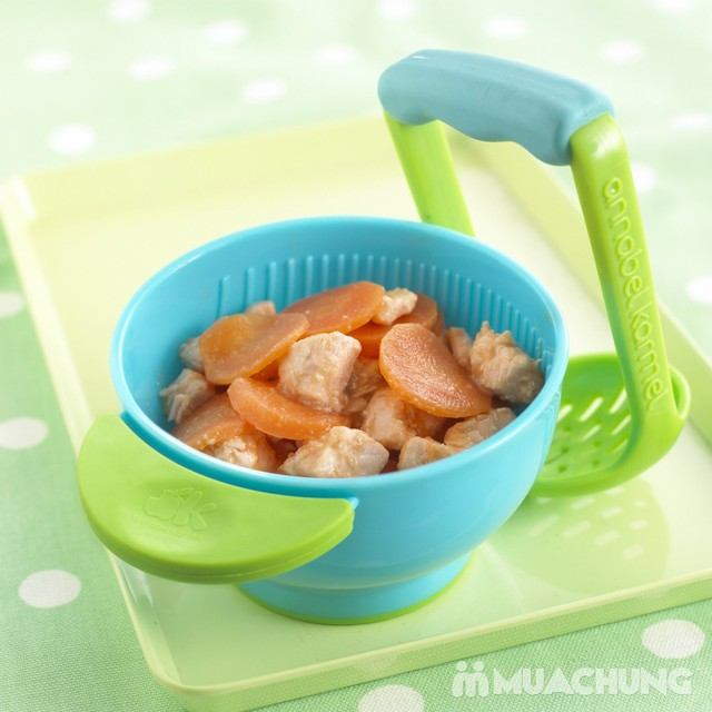 Bát nghiền đồ ăn tiện dụng, đa năng cho bé - 1