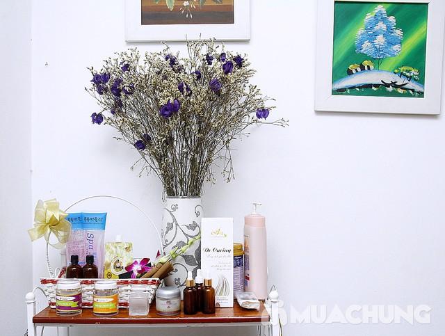 Massage, chườm đá thư giãn toàn diện cho bà bầu Nacharm Spa - 1