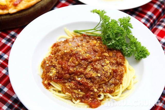 Pizza Hoa Ý, mỳ Spagheti & Caramen ngon đúng điệu - 4